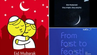 Eid-ul-Fitr 2020 Wishes: Here's How Colgate, Oreo, SpiceJet, IndiGo & Other Brands Wished Eid Mubarak 2020