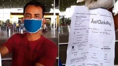 IndiGo Mumbai to Kolkata Flight Cancellation Leaves 3 Migrants Stranded, Airline Assures Accommodating Them on Next Flight After Journalist Shares Video