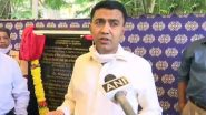 Goa Beach Rape Case: 'Parents Must Introspect Why Teenagers Hang Out on Beaches at Night', Says CM Pramod Sawant