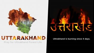 Uttarakhand Forest Fires: #SaveTheHimalyas Trends On Twitter, Netizens Appeal and Pray For Devbhoomi Grappled in Fire Since 4 Days