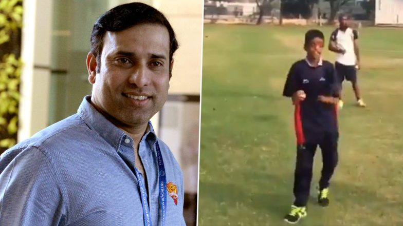 'Salute to the Spirit of Human Endurance': VVS Laxman Lauds Specially-Abled Child Bowling in Nets