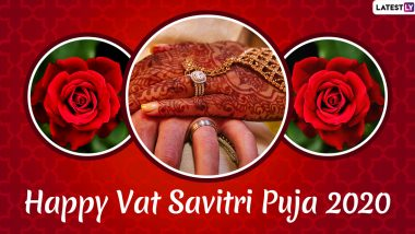 Vat Savitri Vrat 2020 Romantic Wishes: WhatsApp Messages, Facebook Greeting, Instagram Stories And SMS to Celebrate The Auspicious Occasion