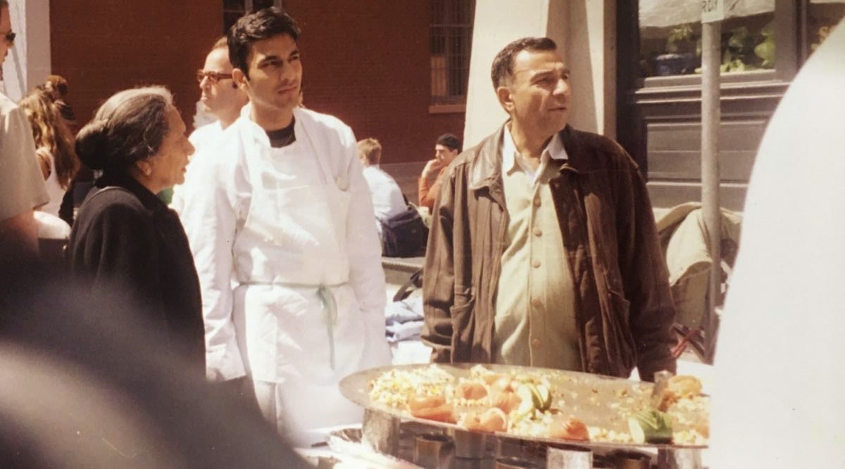 Vikas Khanna Reminisces His Late Father's Proud Words Upon Seeing the Chef Selling Food on the New York Streets (View Post)
