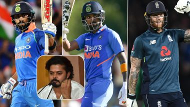 Sreesanth Names Virat Kohli, KL Rahul and Ben Stokes As Batsmen Likely to Score Triple Century in ODI Cricket