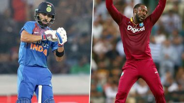 'Just Bat and Shut Up': Kesrick Williams Recalls 'Notebook Celebration' Banter With Virat Kohli During IND vs WI T20I Series 2019