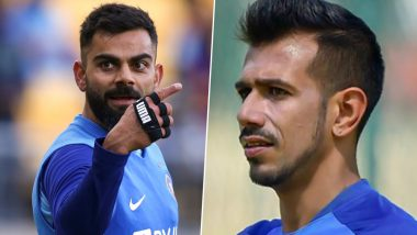 Virat Kohli Once Again Trolls Yuzvendra Chahal As RCB Spinner Pops Up in Comments Section During Indian Cricket Team Captain's Instagram Live Session With Sunil Chhetri
