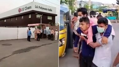 Vizag Gas Leak: 8 Dead in Styrene Gas Leakage at LG Polymers Industry, PM Narendra Modi Holds Meeting With NDMA