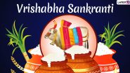 Vrishabha Sankranti 2021 Date, History, and Significance: Everything You Need to Know About the Day That Marks the Start of Second Month of the Hindu Samwat Calendar
