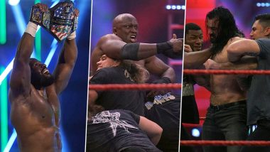 WWE Raw May 25, 2020 Results and Highlights: Apollo Crews Defeat Andrade to Become United States Champion; Drew McIntyre Gets Into Brawl With Bobby Lashley (View Pics)