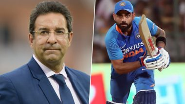 Virat Kohli Names Wasim Akram As a Bowler from Past Who Would have Troubled the Indian Cricket Team Captain