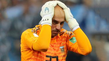 Willy Caballero, Chelsea Keeper, Reveals Receiving Death Threats After his Blunder Against Croatia at 2018 FIFA World Cup