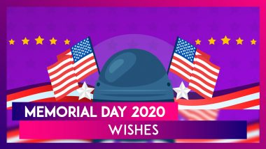 Memorial Day 2020 Wishes: WhatsApp Messages, Greetings, Images & Quotes to Honour Military Heroes