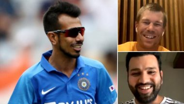 Yuzvendra Chahal Hilariously Trolls David Warner for Having 'Patience' to Watch Mumbai Indians' Documentary