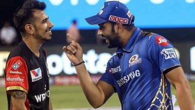 Yuzvendra Chahal Shares Throwback Picture With 'Brother' Rohit Sharma Amid COVID-19 Lockdown (View Post)