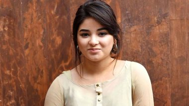 Zaira Wasim Gets Support from Twitterati for Her Religious Post on Locust Attack, Fans Trend #StandWithZaira after the Dangal Fame Was Slammed on Social Media