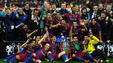 This Day That Year: When Lionel Messi & Team Defeated Manchester United to Clinch UEFA Champions League 2011, Barcelona Shares Video
