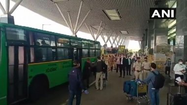 Vande Bharat Mission: Over 300 Indians Return to Bengaluru From London by Special Air India Flight