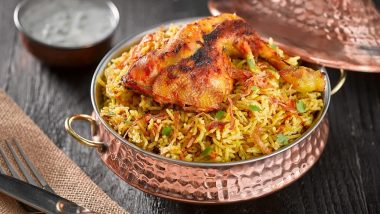 Biryani Recipes Searches Go Up Over Past Few Months Amid COVID-19 Pandemic as People Experiment at Home And Consume the Delicacy