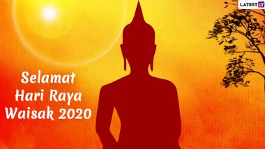 Selamat Hari Raya Waisak 2020 HD Images and Vesak Day Wallpapers for Free Download Online: Send WhatsApp Messages and Greetings to Celebrate Buddha Purnima