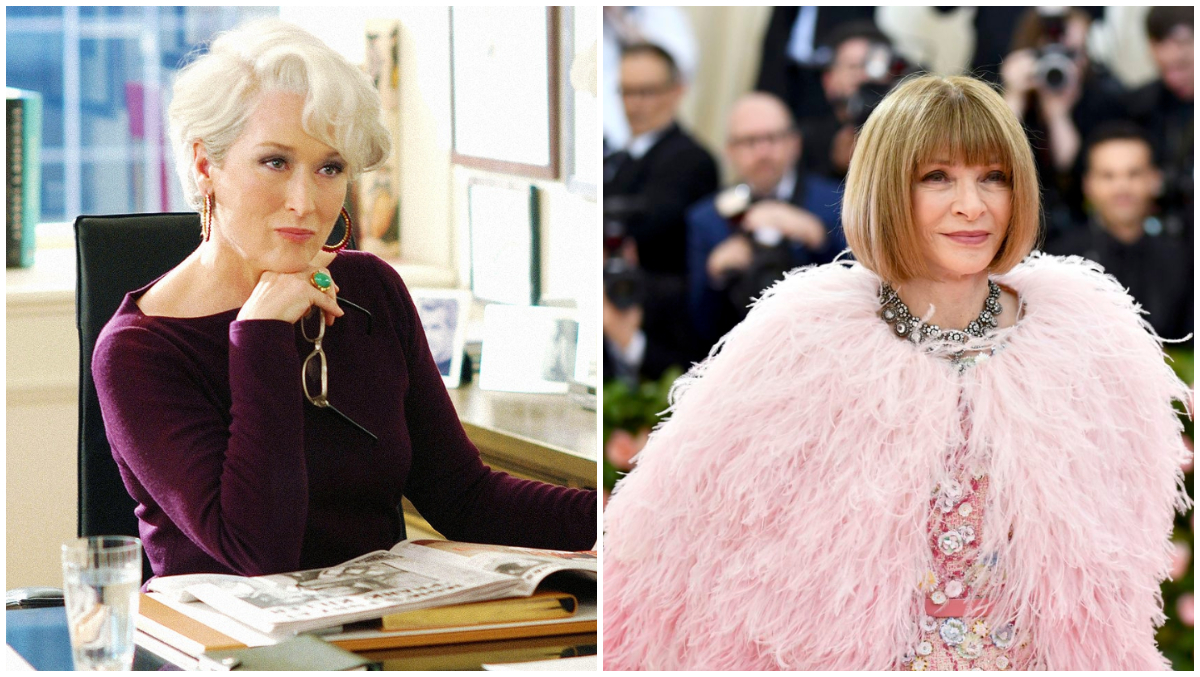 Is Anna Wintour Anything Like Meryl Streep In The Devil Wears Prada A Former Vogue Legend Answers News Brig