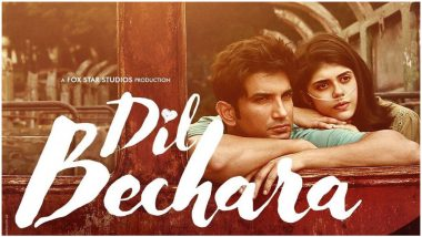 Sushant Singh Rajput Fans Trend #DilBecharaTrailer Ahead Of Its Release, Root for It to Beat Zero and Become 'Most-Watched' Trailer