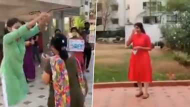 Doctor's Warm Welcome With Claps and Flowers on Returning Home After 20 Days of Treating COVID 19 Patients is Going Viral; Other Similar Instances Where Corona Frontline Warriors Were Showered With Love