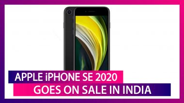 Apple iPhone SE 2020 Goes on Sale in India via Flipkart; Check Prices & Exciting Offers