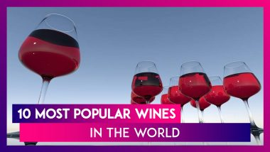National Wine Day (US) 2020: 10 Most Popular Wines in The World