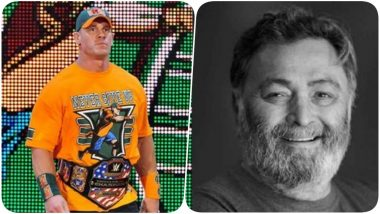 John Cena Pays Tribute to Rishi Kapoor, Posts Picture of Deceased Star on Social Media