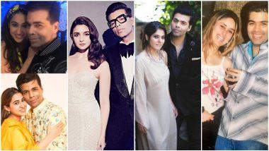 Karan Johar Gets Warm Birthday Wishes From Sara Ali Khan, Alia Bhatt, Kajol, Kareena Kapoor And Others (See Pics)