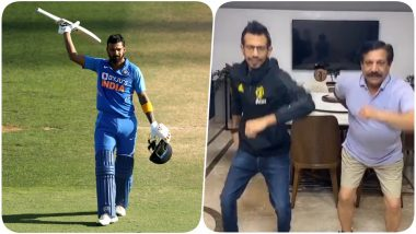 KL Rahul Hilariously Trolls Yuzvendra Chahal for TikTok Videos, Says 'He Should Stick to Bowling Googlies'