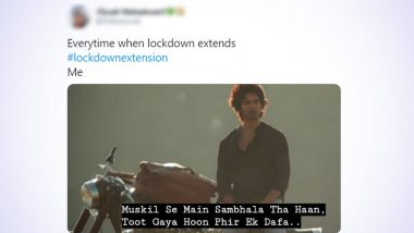 Lockdown Extension Funny Memes and Jokes Go Viral Again! Twitterati Share Hilarious Reactions Displaying Their Sentiments Over Lockdown 5.0