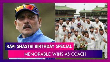 Happy Birthday Ravi Shastri: Memorable Team India Wins Under Coach Shastri
