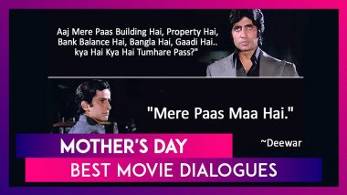 Mother's Day: From Deewar To KGF Chapter 1, Best Movie Dialogues About Mothers