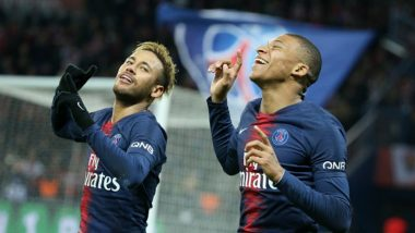 Neymar Jr Trolls Kylian Mbappe as French Footballer Posts Picture of Himself Playing Basketball