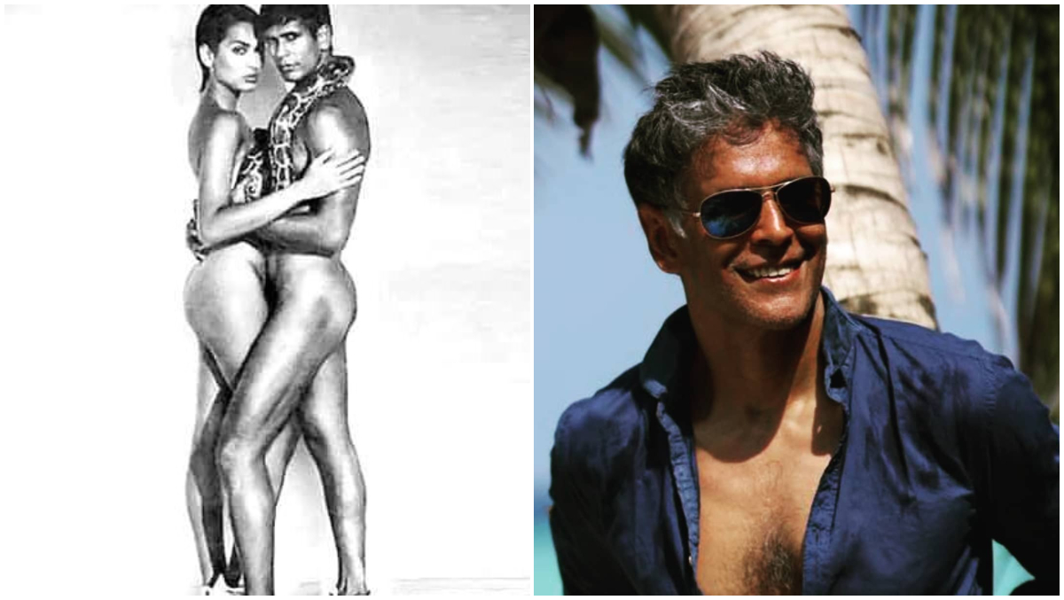 Milind Soman Shares Controversial Nude Photo With Madhu Sapre, Wonders What Reaction It Will Get Today
