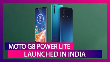 Motorola Moto G8 Power Lite with a 16MP Triple Rear Camera Setup Launched in India; Price, Features, Variants & Specs