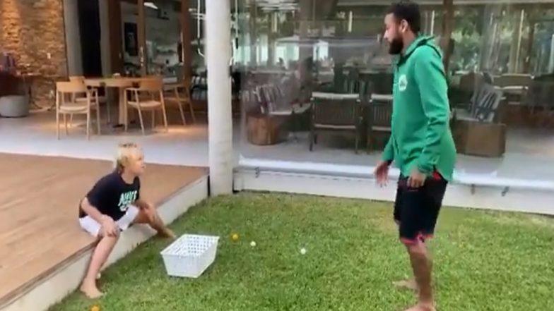 Neymar Jr Trolls His Son Davi Lucca With an Egg Prank, PSG Footballer Shares Video On Social Media