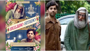Confirmed! Amitabh and Ayushmann's Gulabo Sitabo Becomes First Bollywood Release to Hit OTT Platform Amid the Lockdown, Will Release on Amazon Prime on June 12
