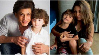 AbRam Khan Birthday: 7 Times When Shah Rukh Khan and Gauri Khan's Little Bundle Of Joy Won Netizens' Hearts With His Cute Smile! (Watch Videos)