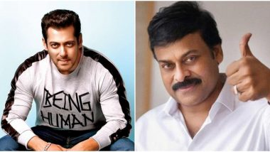 Acharya: Salman Khan Was Never Approached to be a Part of Chiranjeevi's Next