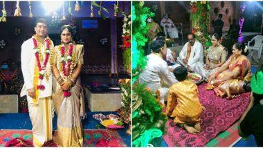 Tollywood Producer Dil Raju Ties The Knot Amid Coronavirus Lockdown, Wedding Pics Go Viral