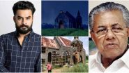 Tovino Thomas Starrer's Minnal Murali Church Set Vandalised in Kalady; Kerala CM Pinarayi Vijayan Promises To Take Tough Action (Watch Video)