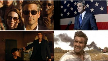 George Clooney Birthday Special: 10 Fan-Favourite Roles That Make Him the Coolest Cat in Hollywood