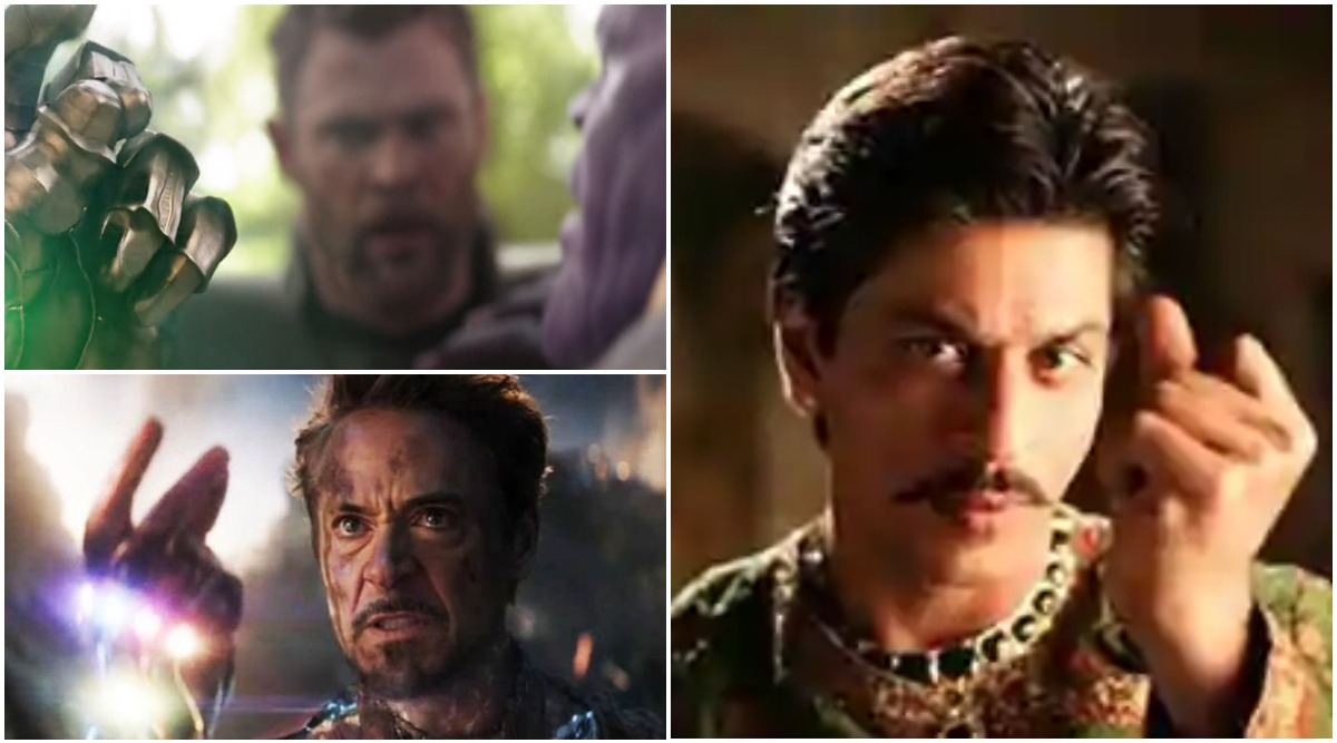 Hey Thanos and Iron Man! Shah Rukh Khan Did the 'Snap and Dust' Move Way Before the Avengers Movies and This Viral Clip Is Proof! (Watch Video)