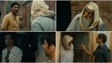 Gulabo Sitabo Trailer: Amitabh Bachchan and Ayushmann Khurrana's Delightful Banter Promises Paisa-Vasool Entertainment in Shoojit Sircar's Slice-of-Life Comedy (Watch Video)