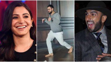 Anushka Sharma Shares Funny Video Of 'Dinosaur' Virat Kohli and Ranveer Singh Can't Control His Laughter!