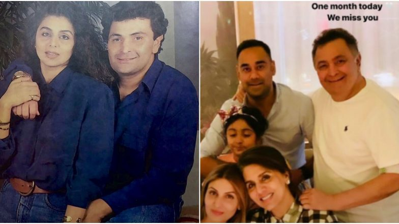Late Actor Rishi Kapoor's Wife Neetu and Daughter Riddhima Remember the Legend with These Throwback Pics