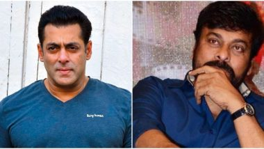 Lucifer Telugu Remake: Salman Khan to Play a Key Role in Megastar Chiranjeevi Starrer?