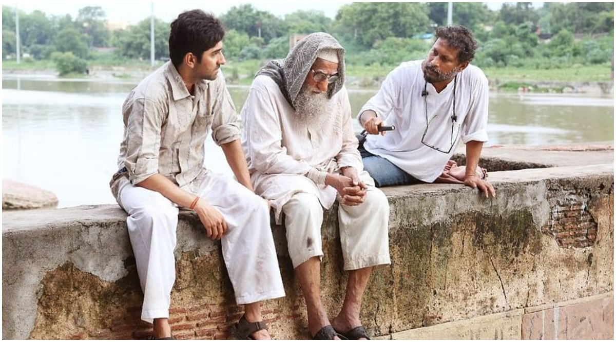Gulabo Sitabo: Amitabh Bachchan, Ayushmann Khurrana and Shoojit Sircar Indulge in a Funny Banter to Reveal the Film's Trailer Date (Watch Video)